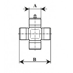CROISILLON SERIE 10 41x118 EUROCARDAN ( TYPE BONDIOLI 10.41 )