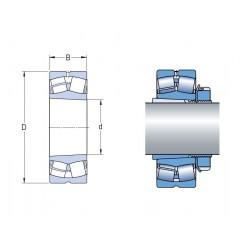 ROULEMENT A ROULEAUX SPHERIQUES Rhp 35X72X23 ( ALESAGE CONIQUE )