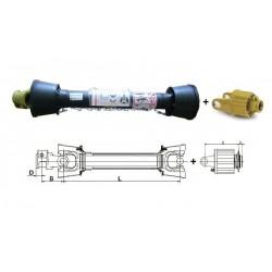 TRANSM. Binacchi SERIE 2 AVEC LIMITEUR A CAMES LN3 1200 Nm 611341001A